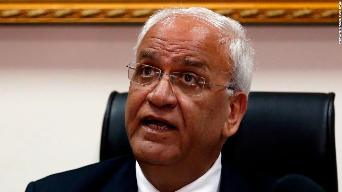 صائب Erekat ، مذاکره کننده ارشد فلسطینی ، در سن 65 سالگی درگذشت