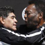 """پله احترام احساسی جدیدی به دیگو مارادونا """"بی نظیر"""" می دهد"""